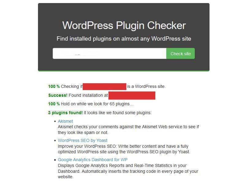 wordpress plugin checker tool